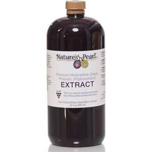 Picture of Natures Pearl Premium Muscadine Extract 32oz